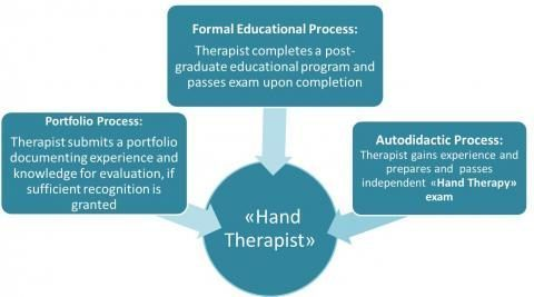 Paths to becoming a Hand Therapist