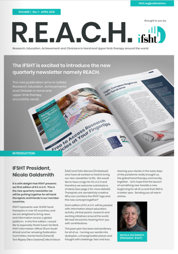 REACH Newsletter cover volume 1, number 1